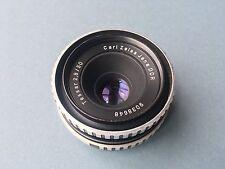 Vintage Carl Zeiss Jena lens DDR Tessar 2,8/50 M42 mount