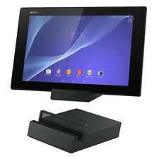 SONY DK39 CHARGING DOCK CRADLE STAND FOR XPERIA Z2 TABLET IN BLACK