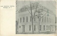 A View of the New Masonic Temple, Waverly Ny 1907