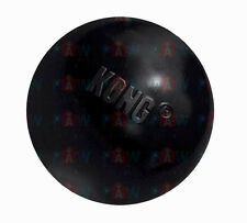 KONG EXTREME BALL MEDIUM/LARGE UB1 Black Tough Durable Dog Rubber Chew Toy Bounc