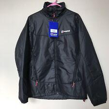 Men's NWT Large Berghaus Rannoch Hydroloft Black Insulated Jacket Fits Medium