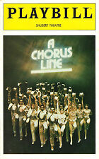 "Bebe Neuwirth ""A CHORUS LINE"" Marvin Hamlisch / James Kirkwood 1980 Playbill"