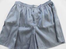 Gray Boxer Shorts, New, handmade, Mens Extra Largle XL Polyester
