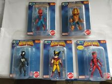 Complete Set of 5 - Wave 1 Marvel Secret Wars - Micro Bobbles by Gentle Giant