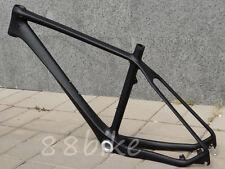 """FR203 Full Carbon UD Matt Mountain Bike MTB BSA 26ER Frame 16"""" Headset Clamp"""