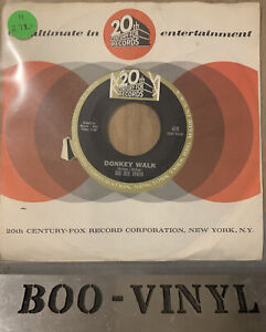 "BIG DEE IRWIN~DONKEY WALK/SOMEDAY YOU WILL UNDERSTAND WHY 7"" VINYL RECORD EX-VG+"