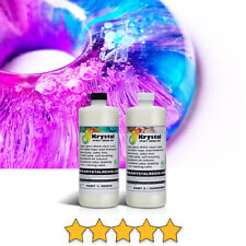 0.5 Litre (16.9 oz) Clear Epoxy Resin Kit for Tabletops and Artworks, non-toxic.