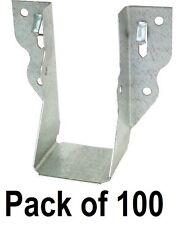 (100) ea Simpson Strong Tie LU24 2 x 4 20 Gauge Galvanized Joist Hangers