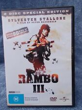 RAMBO 3(2 DISC SPECIAL EDITION)SYLVESTER STALLONE, DVD M R4
