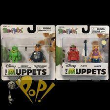 MUPPETS Minimates Ser 3 Action Figure SET 2x2-Packs KERMIT Fonzie FLOYD Janice!