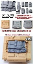 1/35 Scale StuG III Deck Stowage Set #3 (8 Pieces) - Value Gear Resin
