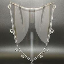 Doppia bolla cupolino parabrezza paravento chiaro per 2017-2019 YAMAHA YZF R6