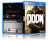 Doom - ReplacementPS4 Cover and Case. NO GAME!!