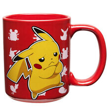 Pokemon Pikachu Mug Red Ceramic Cup Fan Fun Gift New Official Licensed Product