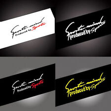 1 Car Hood Sports Racing Sticker Wrap For Auto Tail Trunk Vinyl Waterproof Decal