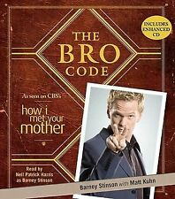 THE BRO CODE unabridged audio book on CD by BARNEY STINSON (NEIL PATRICK HARRIS)