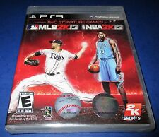 MLB 2K13/NBA 2K13 Combo Pack Sony PlayStation 3 *Factory Sealed! *Free Ship!