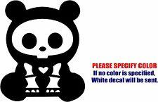 "Vinyl Decal Sticker - SKELANIMALS CHUNGKEE THE PANDA Car Car Truck JDM Fun 6"""