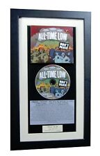 ALL TIME LOW Don't Panic CLASSIC CD Album QUALITY FRAMED+EXPRESS GLOBAL SHIPPING