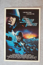 Starship Troopers Lobby Card Movie Poster