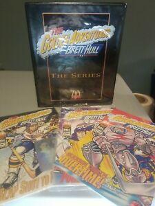 Golden Adventures Of Brett Hull 1-3 NM Sealed Set 1994 McDonalds Comic Books