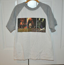 VERY RARE OFFICIAL Hanson Albertane Tour Baseball Shirt! Size Medium!