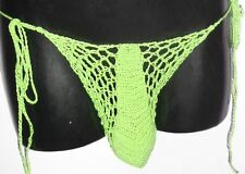 SEXY MENS MESH BIKINI THONG HAND MADE IN YOUR COLOR CHOICE & SIZE  + 99 MORE
