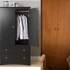 Wood Bedroom Furniture, Wardrobe Armoire, Dresser W/ Drawers