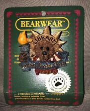 Nip Boyds Bears 1997 Ms. Liberty Royal Order Resin Bearwear Pin Style# 01998-11