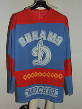 MAGLIA SHIRT TRIKOT ICE HOCKEY GHIACCIO DINAMO MOSCA MOSCOW n°10 80'S