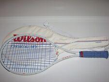 Vintage Wilson Ceramic 110 Tennis Racquet