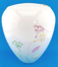 """Hutschenreuther Arzberg Vase """" C.T. """" Blumen Dekor 22 cm  8508F1 """" 226  """" selten"""