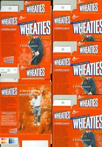 Lot of 5 Arnold Palmer Wheaties Collectibles Mini - Boxes #19 in Series
