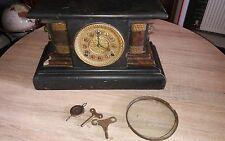 Antique WM L Gilbert (thor) 8 Jour de temps et d'horloge 1906