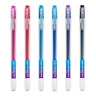 Erasable Rollerball Pens 0.7mm Tip - Assorted Colours Refillable Friction Pen of