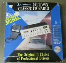 S Cobra 29LTDWX Classic 40-Channel CB Radio complete (never mounted)