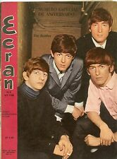 THE BEATLES on cover , Ecran Chile magazine 1965