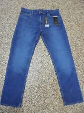 Banana Republic Slim Fit Men's Rapid Movement Jeans Warrior Blue 32 X 30