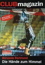 Programm 2001/02 1. FC Nürnberg - Borussia Dortmund