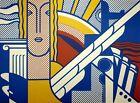 Roy Lichtenstein, Modern Art Poster, Plate Signed Lithograph