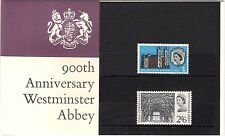 GB 1966 900th Anniversary Westminster Abbey Presentation Pack