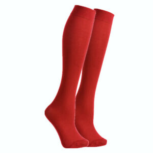 Womens Trouser Socks Knee High Dress Opaque Comfort Band With Spandex Size 9-11