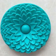 Large Silicone Sun Flower Baking Cake Mold Mould Bakeware Kitchen Cake Tools New