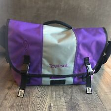 TimBuk2 Yahoo Messenger Bag Laptop Bag Purple and Gray