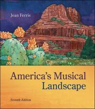America's Musical Landscape Textbook and CD by Jean Ferris (2013, Text & CD)