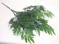 "HANGING / Floating ARALIA Plant 20""L x 12""w Artificial Fish Aquarium, Hide cords"