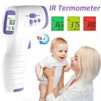 Numérique Thermomètre Sans Contact Infrarouge Frontal et Oreille bébé adulte