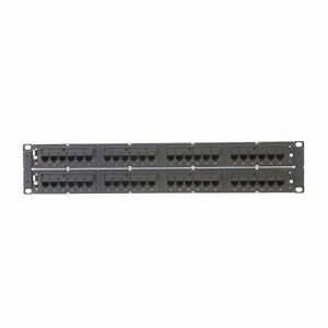 COMMSCOPE 360-IPR-1100-E-GS6-2U-48 760152595 GIGASPEED X10D CAT6A PATCH PANEL 48
