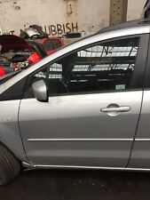 MAZDA 5 TS2 PASSENGERS SIDE FRONT DOOR IN SILVER 2005 to 2009