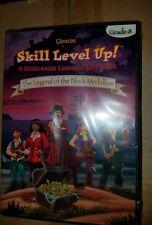 Glencoe Skill Level Up! The Legend of the Black Medallion CD / GAME Grade 8 NEW